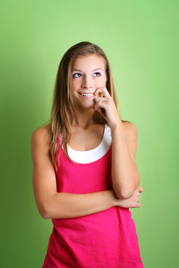 Download Cheeky Woman Stock Image - Image: 3741891
