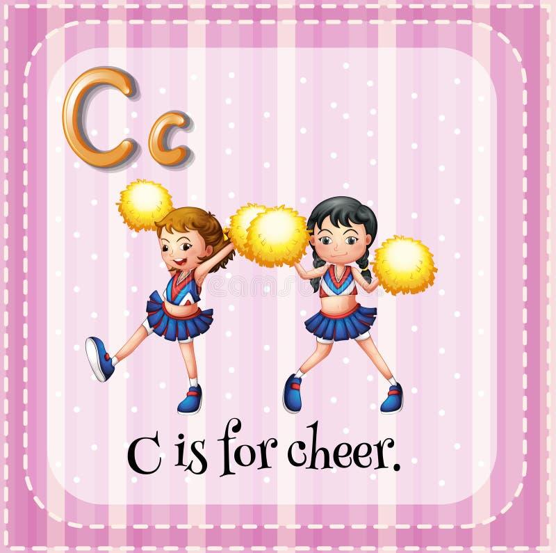 cheer ilustração royalty free