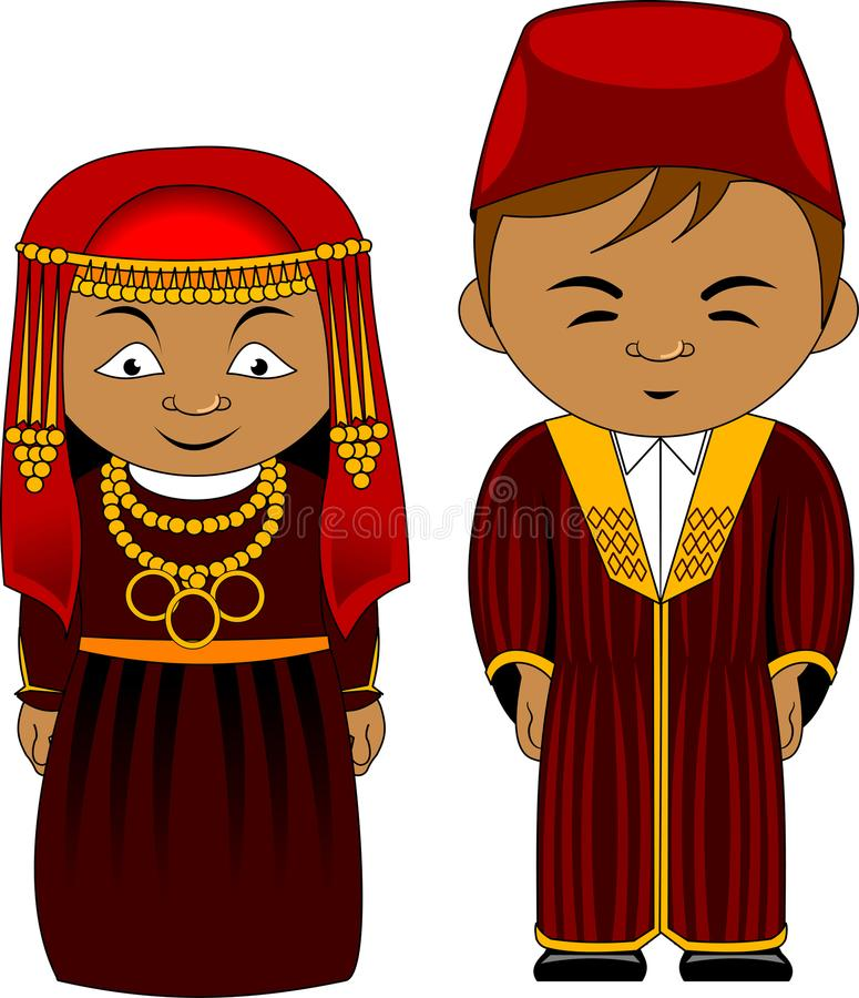 Free Cheerful African Couple From Tunisia Stock Photos - 111560923