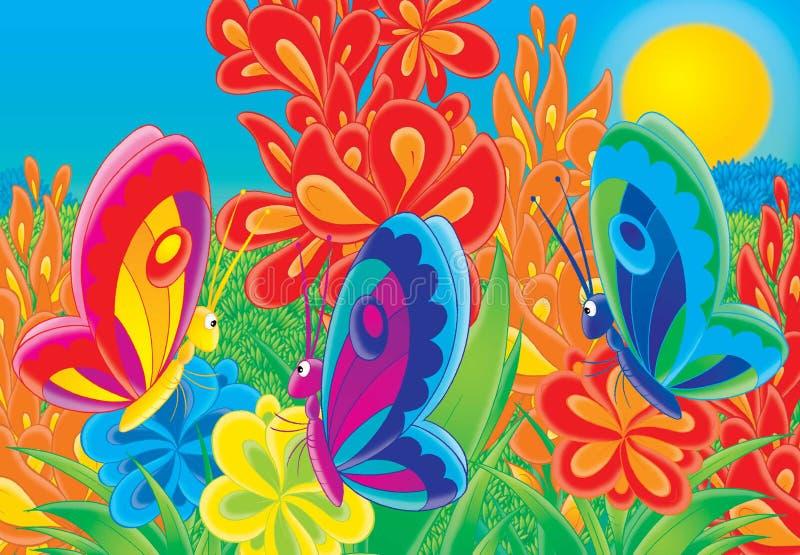 Cheerful animals 06 stock illustration