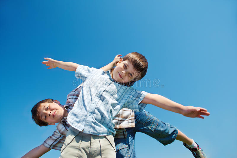 Download Cheerful Boys Stock Photography - Image: 25032402
