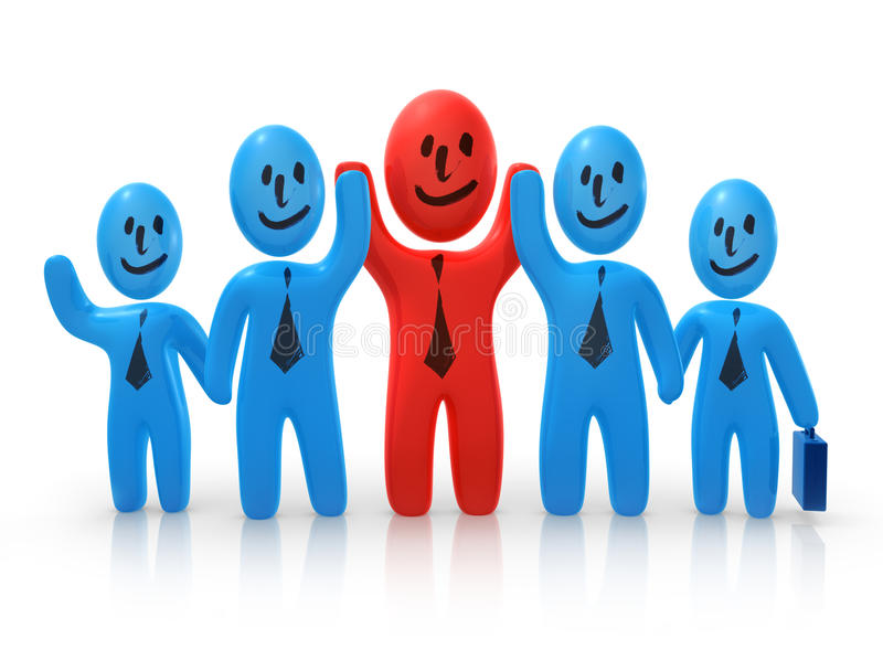 Download Cheerful Business Team Stock Photography - Image: 20731902