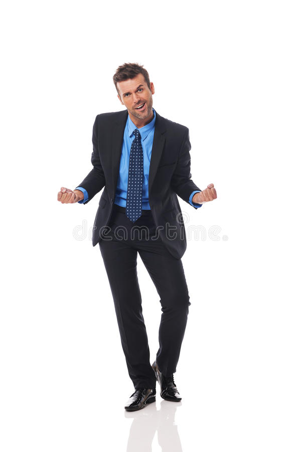 Download Cheerful businessman stock image. Image of caucasian - 33725379