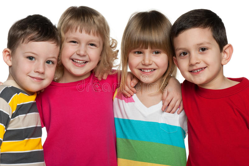 Download Cheerful children stock image. Image of happiness, pretty - 27783027