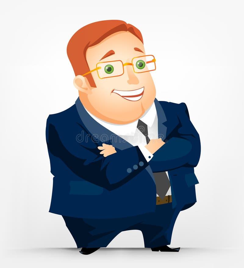 Cheerful Chubby Man Stock Image
