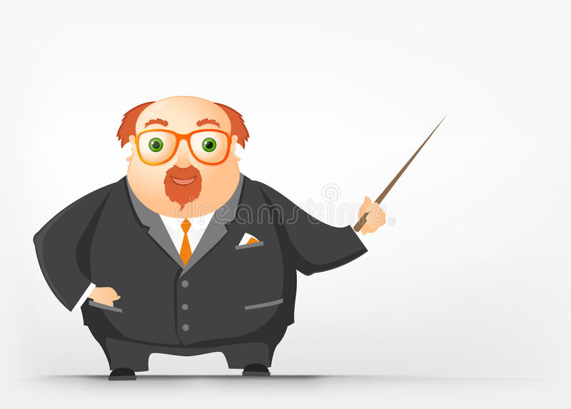 Download Cheerful Chubby Man stock vector. Image of character - 28828239