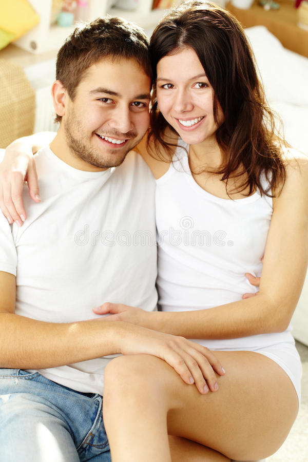Download Cheerful couple stock photo. Image of amorous, attractive - 25940362