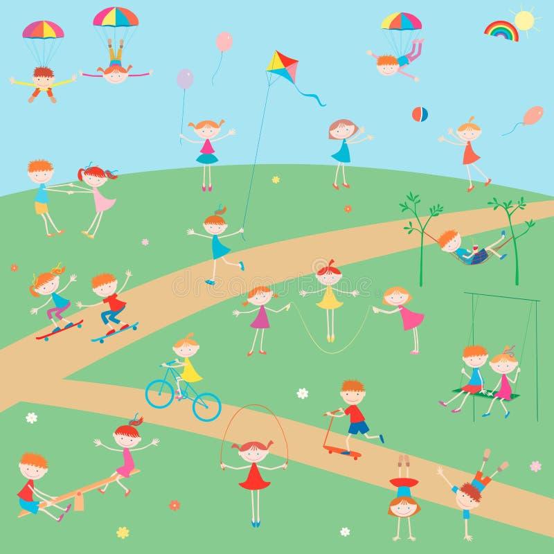 Cheerful day vector illustration