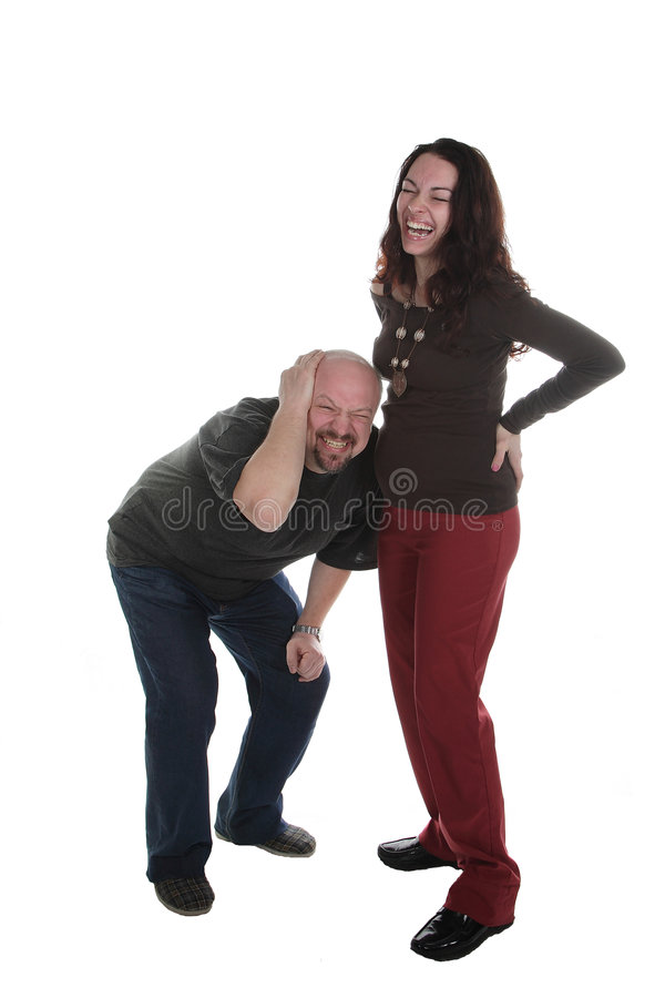 Download Cheerful family stock photo. Image of woman, white, humour - 5344722