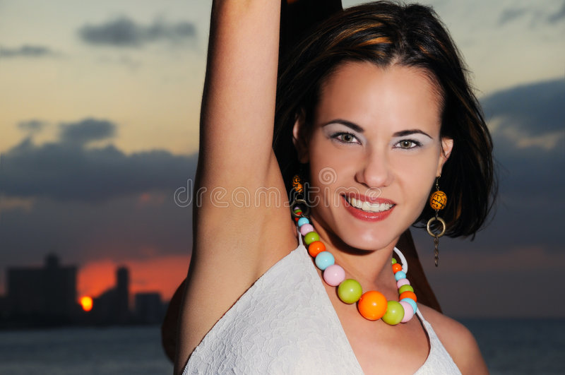 Download Cheerful fashion female stock photo. Image of attractive - 6819034