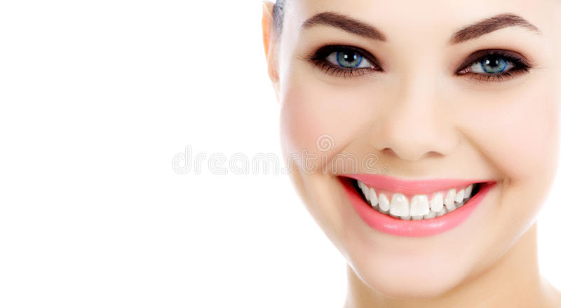Cheerful female royalty free stock images