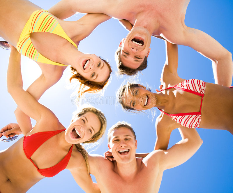 Download Cheerful friends stock image. Image of energetic, group - 8197629