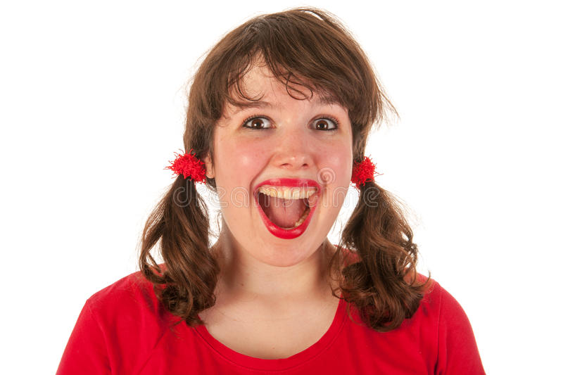 Download Cheerful girl stock image. Image of laughing, beauty - 26646907