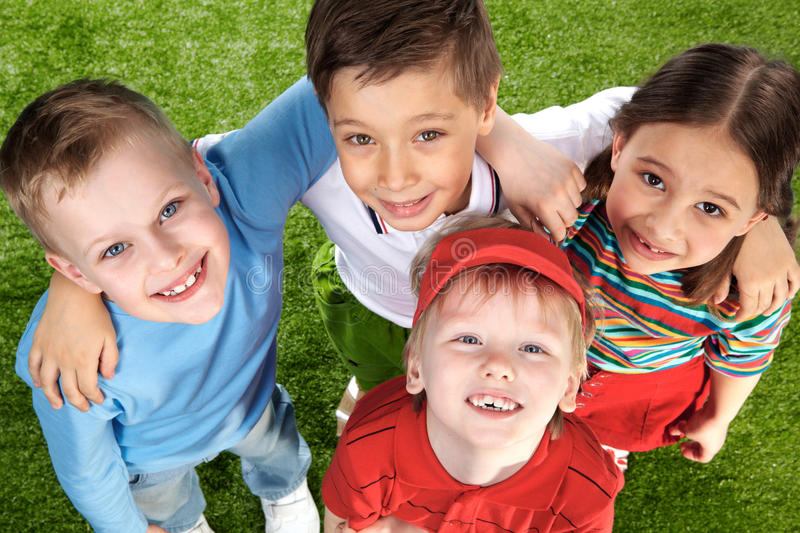 Download Cheerful kids stock photo. Image of offspring, expression - 21260404