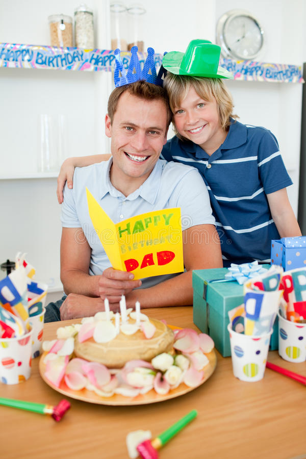 Download Cheerful Man Celebrating His Birthday Stock Photo - Image: 12684366
