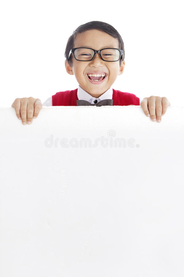 Download Cheerful Pupil With Copyspace Stock Photo - Image: 26051984