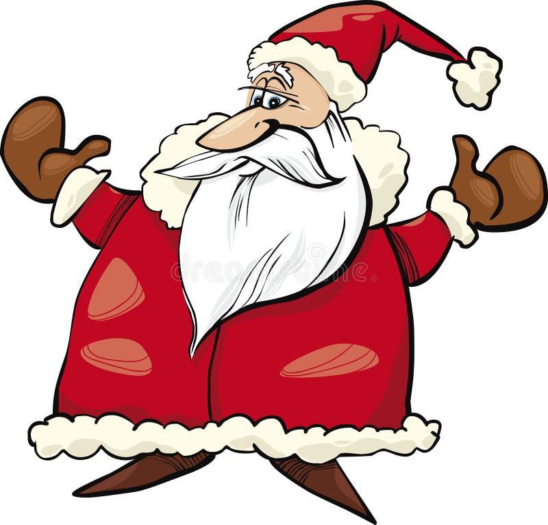 Download Cheerful Santa Claus stock vector. Illustration of holiday - 21957330