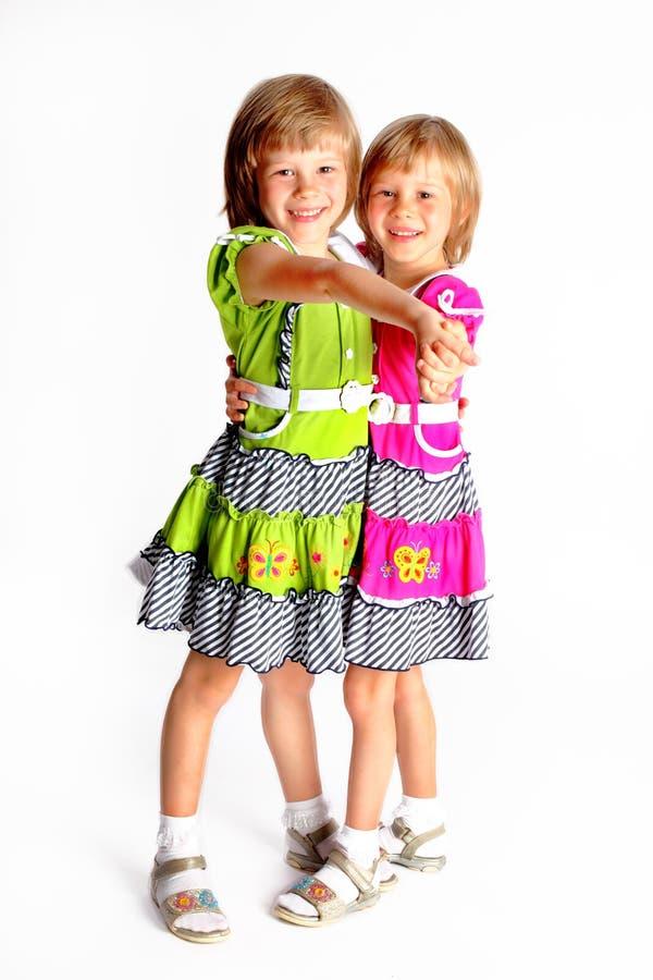 Cheerful sisters