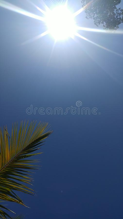 Cheerful sky stock images