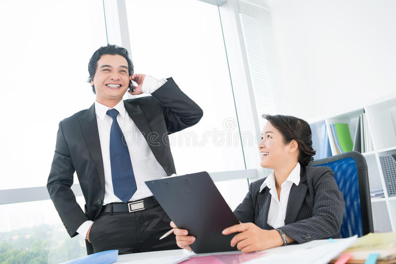 Download Cheerful team stock image. Image of cheerful, manager - 28928639