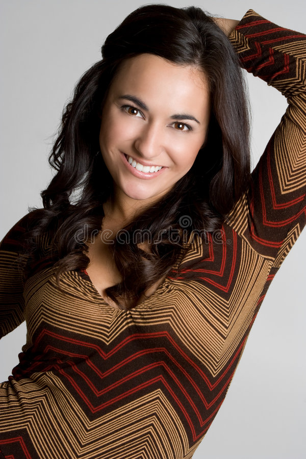 Cheerful Woman royalty free stock image