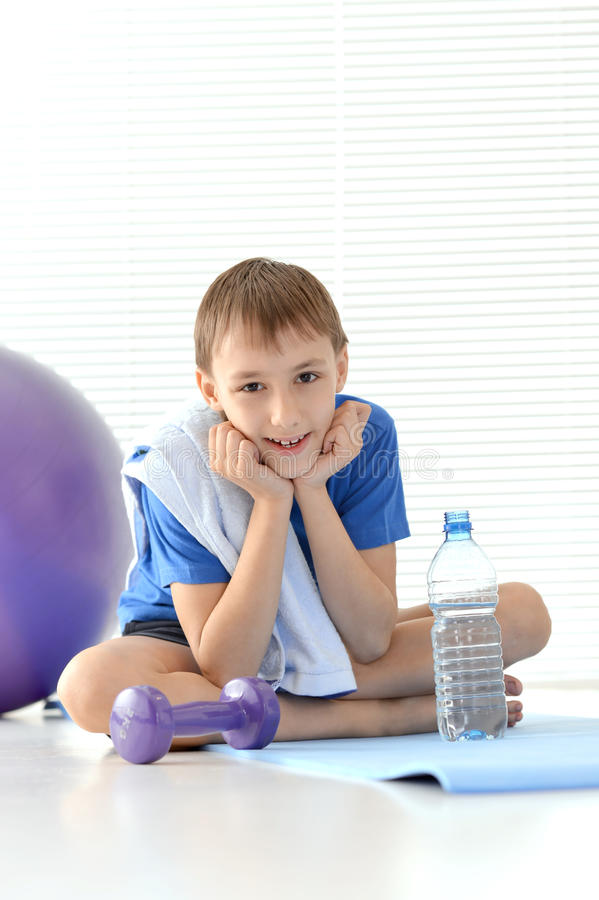 Cheerful young guy royalty free stock photo
