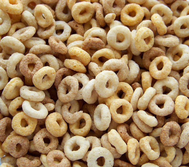 Cheerios royalty free stock images