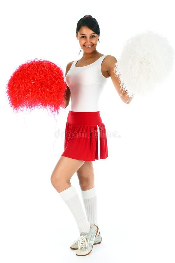 Cheerleader lizenzfreies stockbild