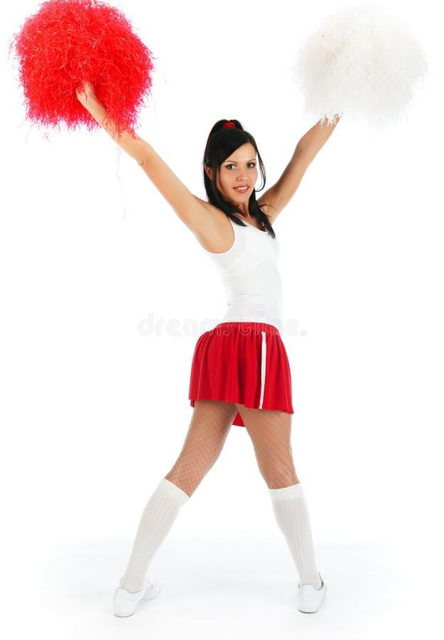 Cheerleader stock afbeelding