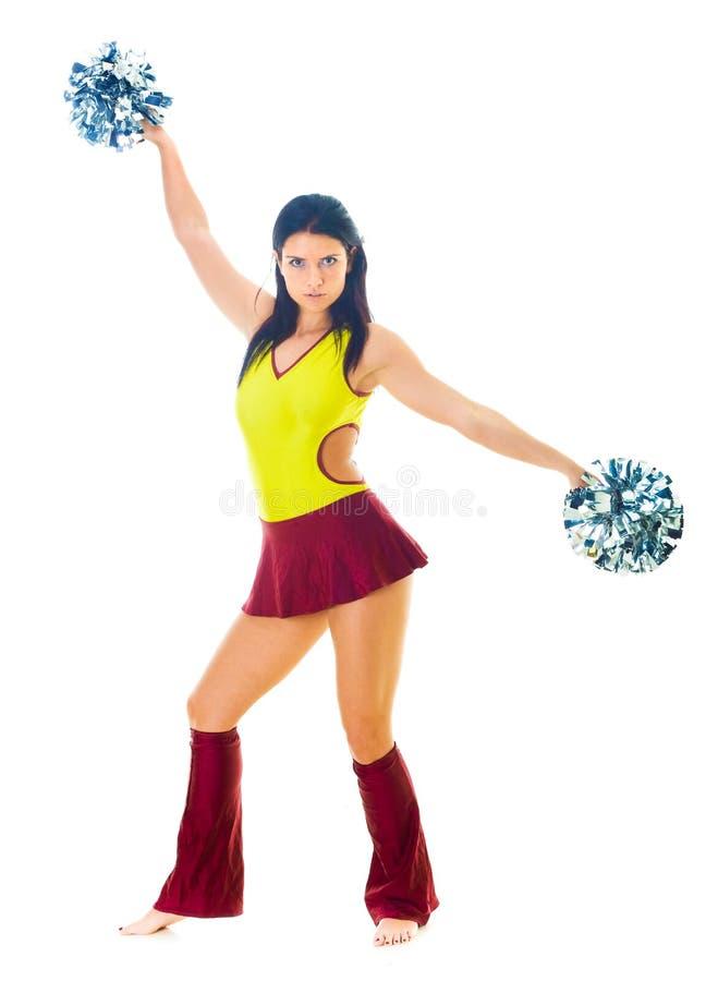Cheerleader royalty-vrije stock foto