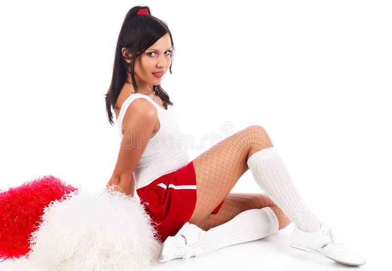 Cheerleader stockfoto