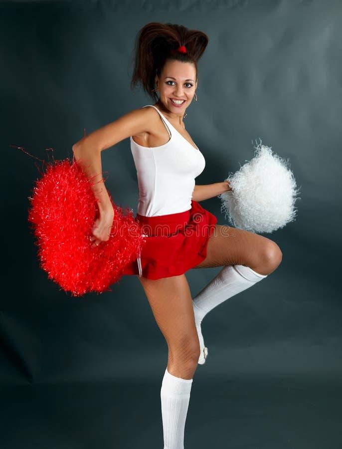 Cheerleader stockfotografie