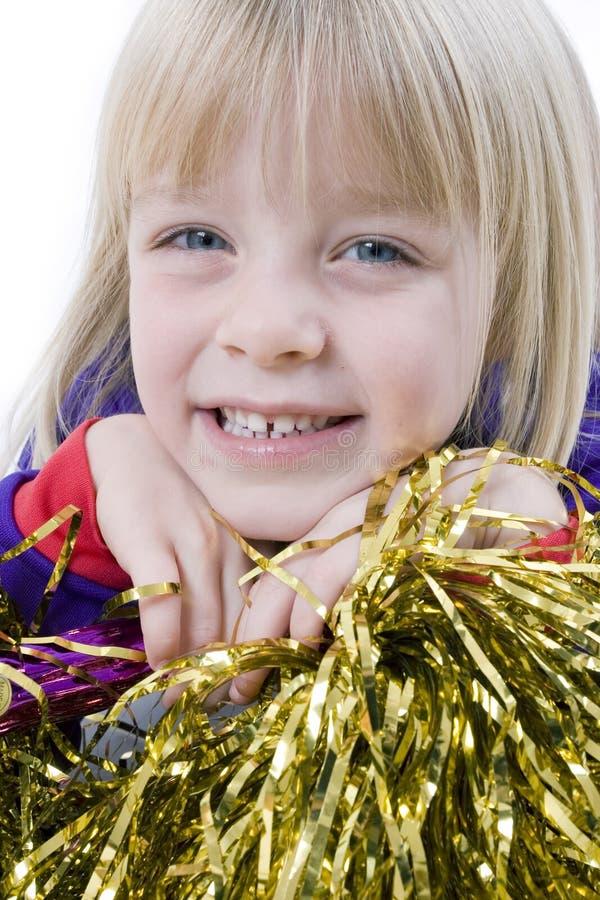 Cheerleader stockbilder