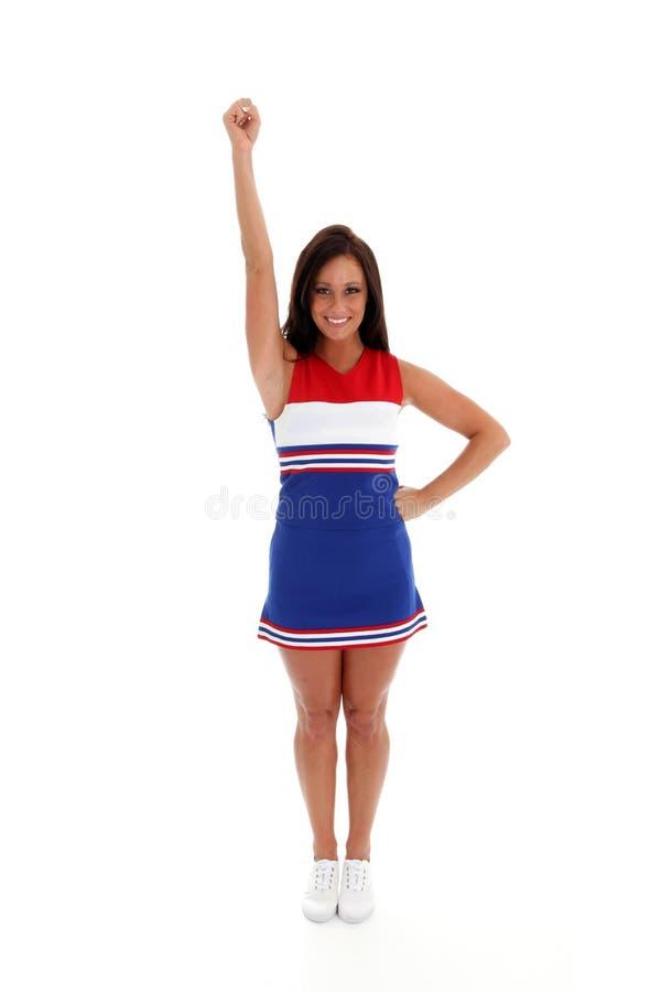 Cheerleader lizenzfreie stockfotografie