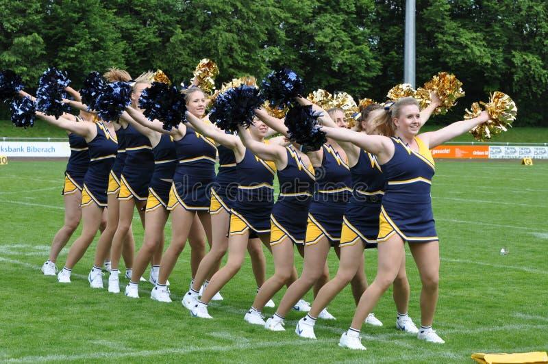 cheerleader lizenzfreies stockfoto