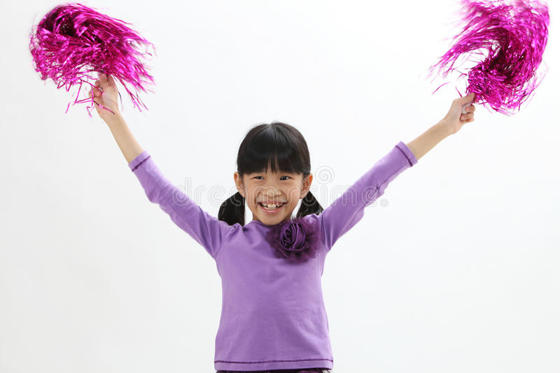 cheerleader imagem de stock royalty free
