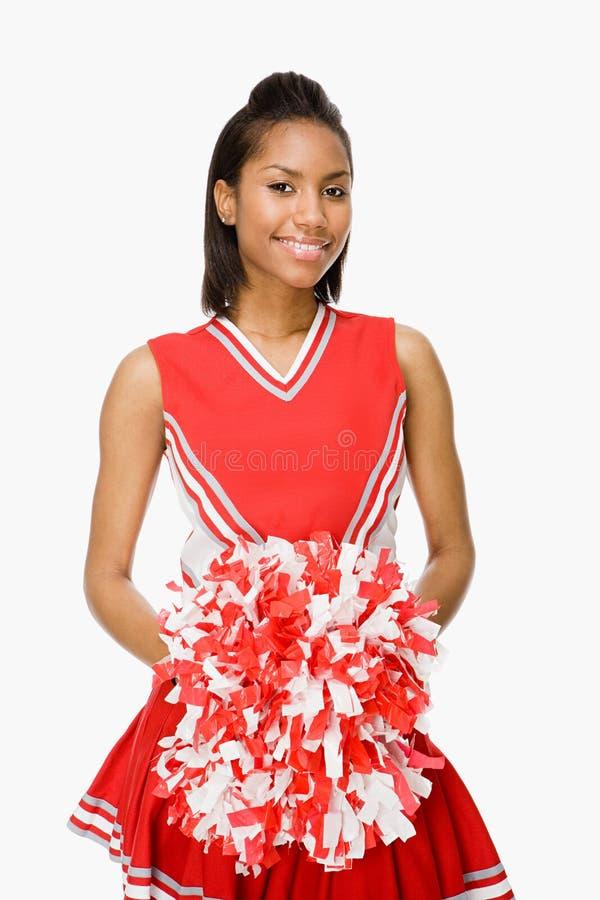 cheerleader fotografia stock libera da diritti