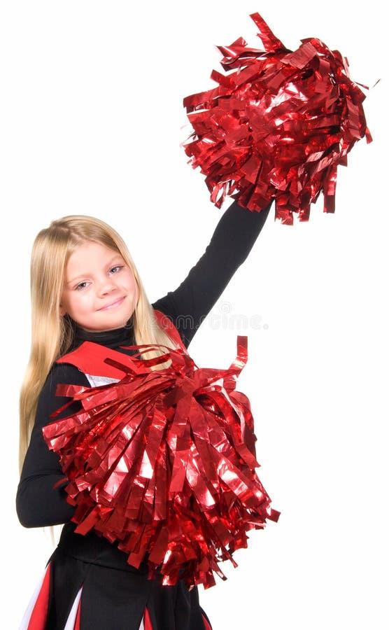 Cheerleader royalty-vrije stock afbeelding