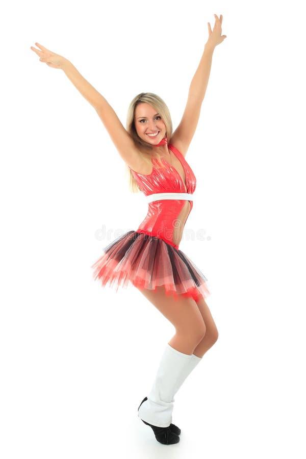 Cheerleader royalty-vrije stock fotografie