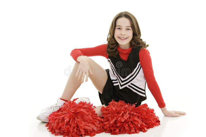 Cheerleader stockbild