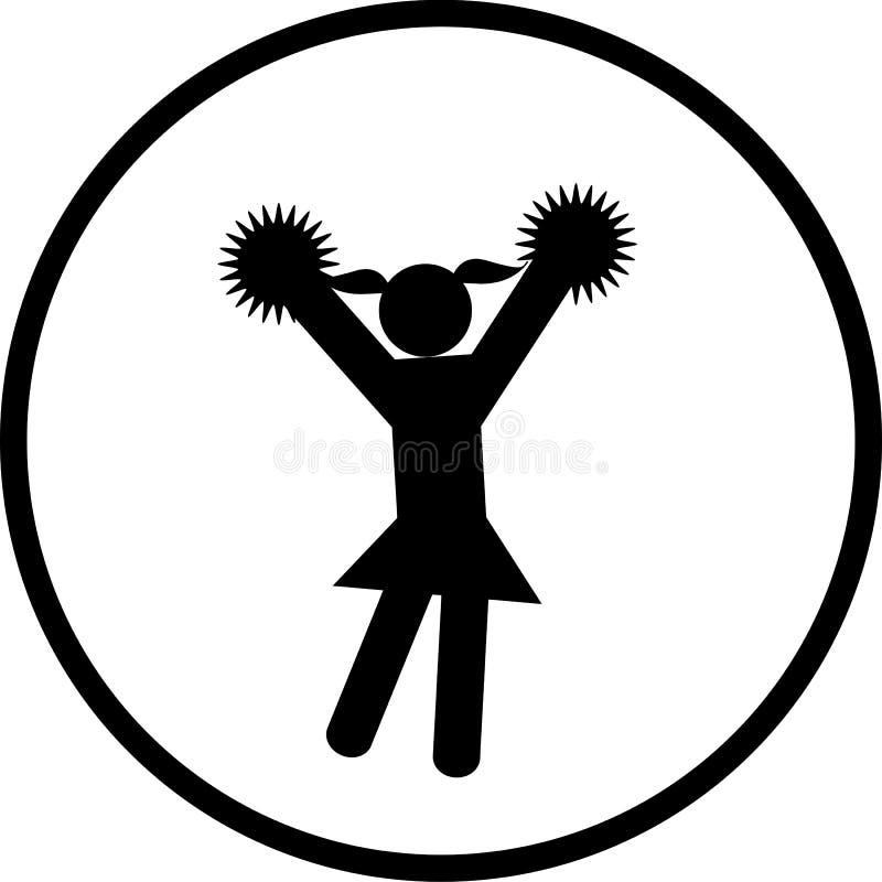 Download Cheerleader vector symbol stock vector. Illustration of leader - 8505154