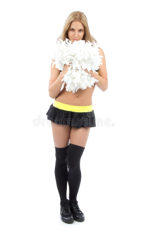 Download Cheerleader woman dancer stock photo. Image of exercise - 26546306