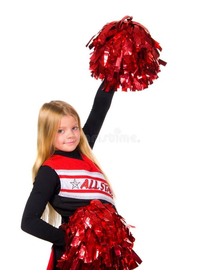 cheerleaderka fotografia stock