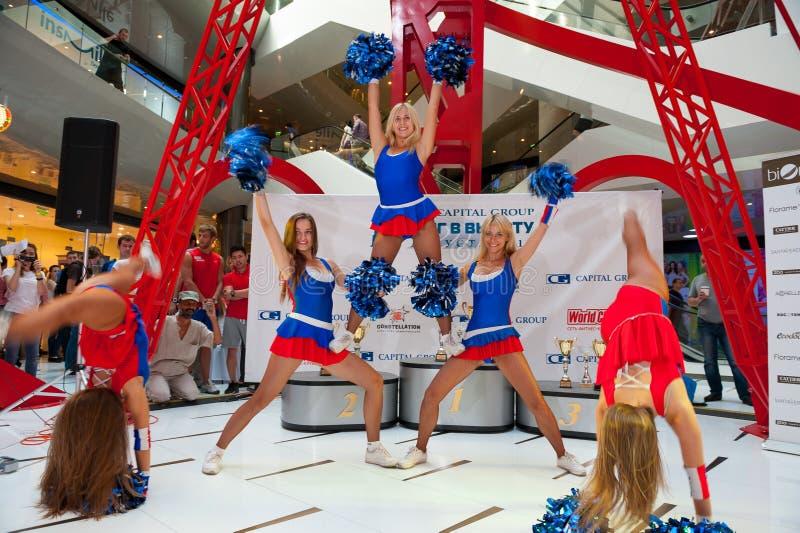 Download Cheerleaders editorial stock photo. Image of women, supporter - 33256278