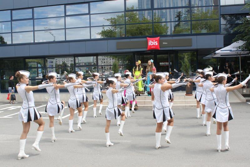 Download Cheerleaders editorial stock image. Image of college - 31498794