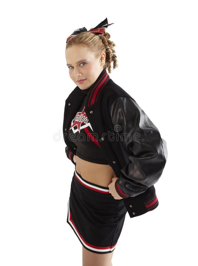 Cheerleading Poses Royalty Free Stock Image