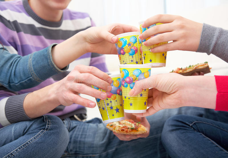 Download Cheers stock photo. Image of male, beverage, drink, cheerful - 24340502