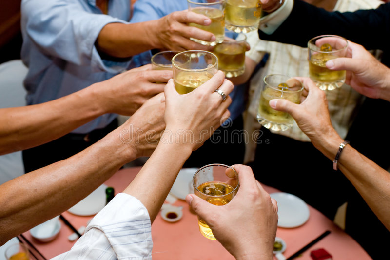 Download Cheers stock photo. Image of congratulate, cheers, glass - 6539908
