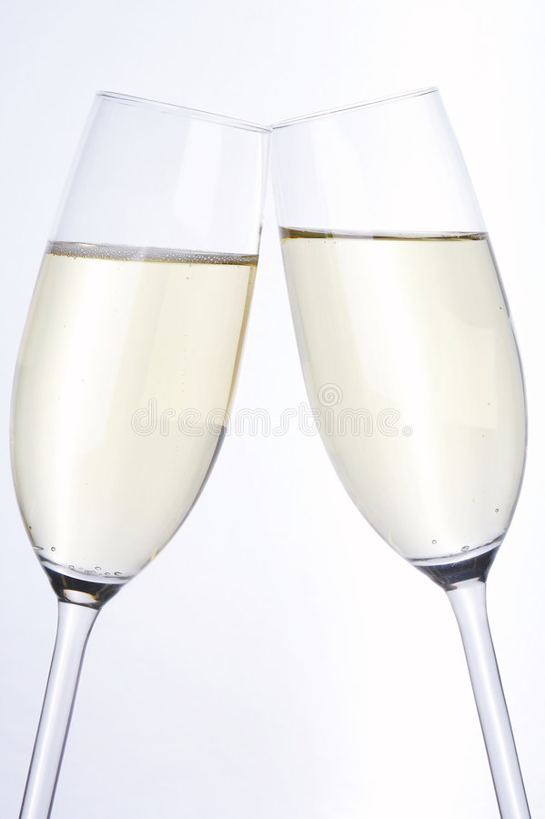 cheers - dinner for two stock images