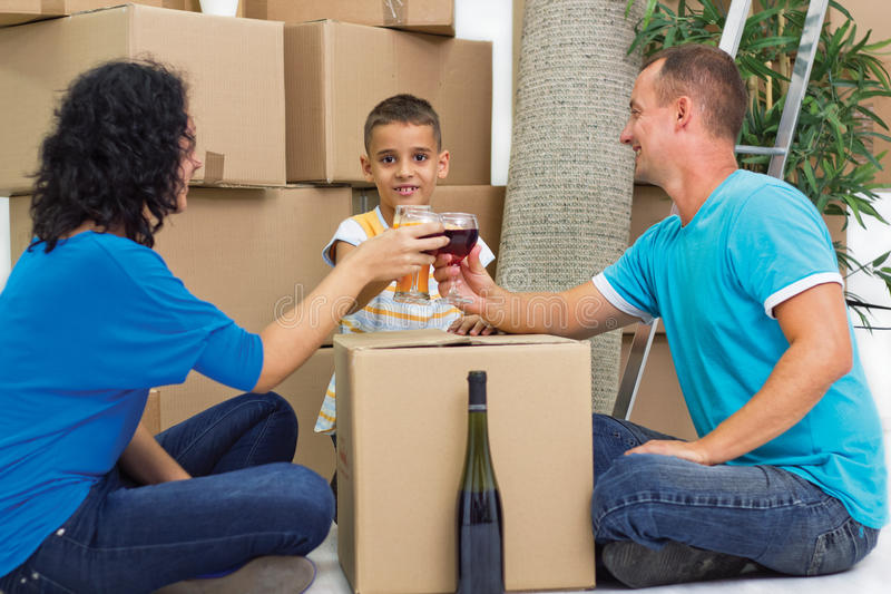 Download Cheers with family stock image. Image of activity, indoor - 33466925